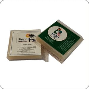 Hotel Soap-White Cream-12g|15g|20g|25g|30g (with hotel logo branding)