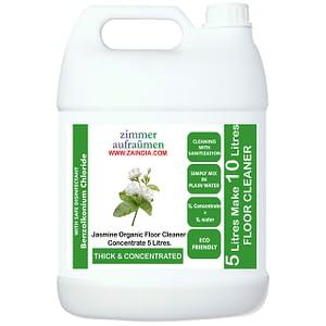 Zimmer Aufräumen (German Brand) Concentrated Floor Cleaner Liquid JASMINE- 5 Liters