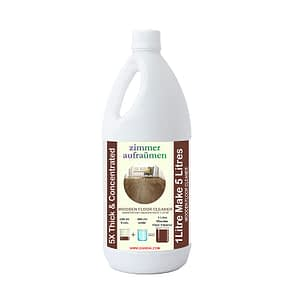 Zimmer Aufräumen- 1L Wooden/ Wood Floor Cleaner ULTRA THICK & CONCENTRATED.