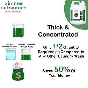 Zimmer Aufraumen Dishwasher Machine Liquid Detergent 5 liters