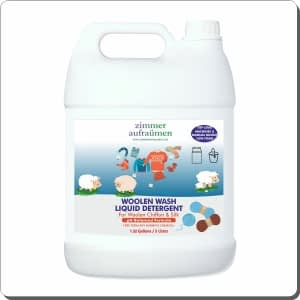 Zimmer Aufraumen Woolen, Chiffon & Silk Wash (5 Liters) for Top Load Machine & Manual Bucket Wash