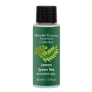 Herbal Shower Gel (30ml) – Lemon & Green Tea for Hotels