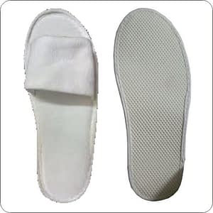 Hotel Slipper – Terry Towel – Front Open 5mm Sole
