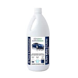 Zimmer Aufraumen (German Brand) 1L Car Wash Shampoo with Silicone Oils & Micro Wax Coating Technology.